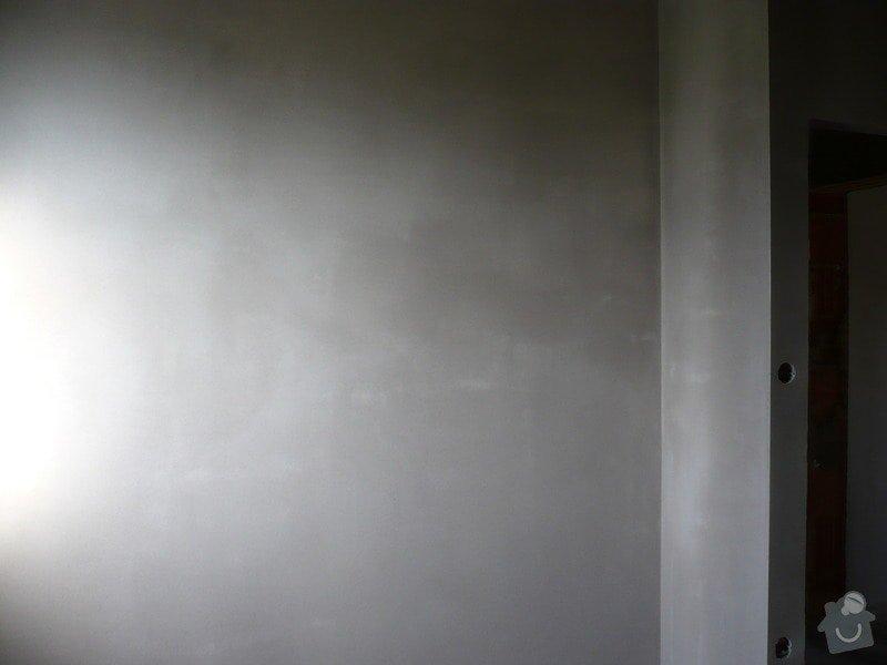 Vnitřní jádrové a štukové omítky, izolace podlahy.: P1030204