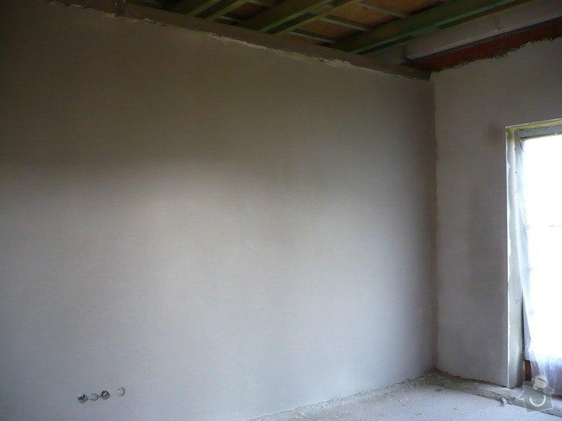 Vnitřní jádrové a štukové omítky, izolace podlahy.: P1030208