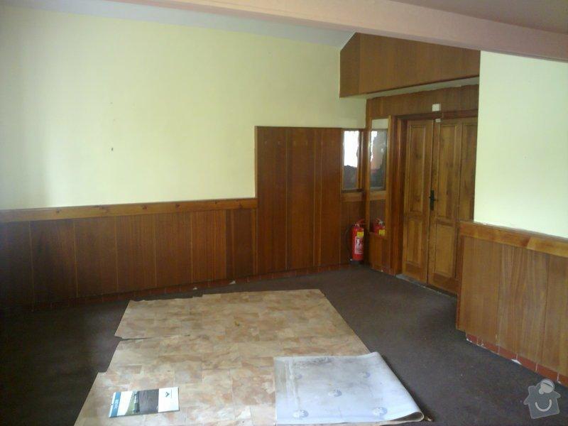 Rekonstrukce restaurace, : 151020101481