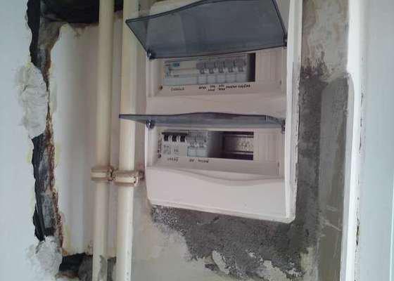 Rekonstrukce elektroinstalace v rodinném domě