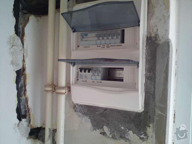 Rekonstrukce elektroinstalace v rodinném domě: DSC00281