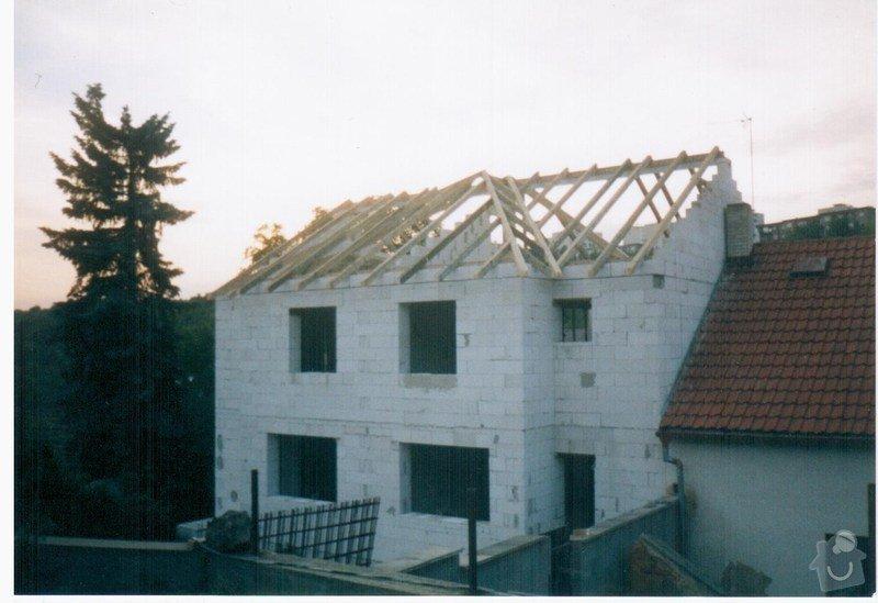 Stavba RD Praha : 012