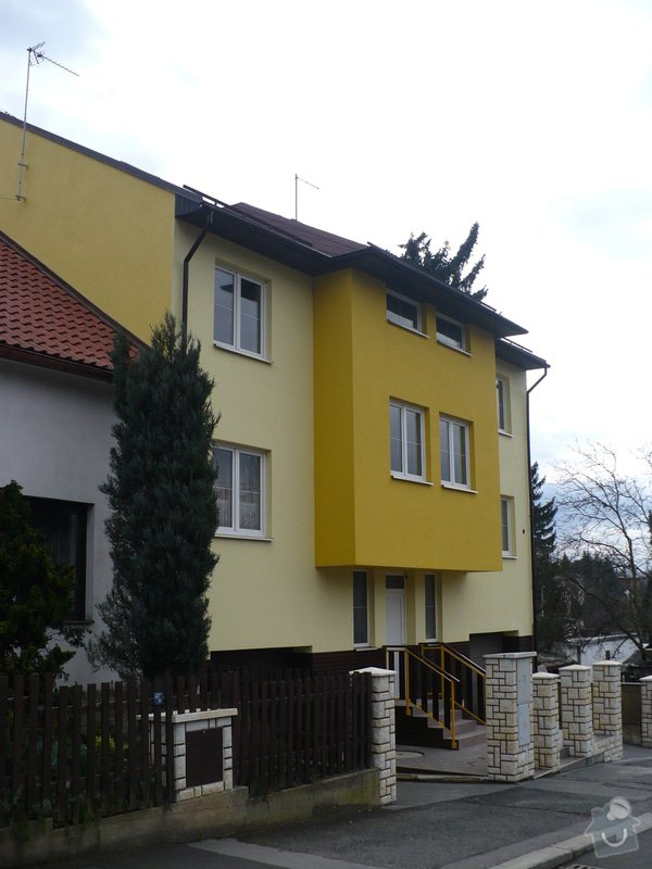 Stavba RD Praha : P1030226