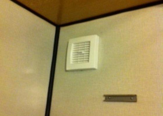 Montáž nových ventilátorů a digestoře