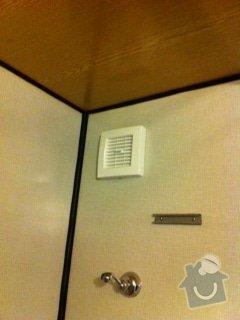 Montáž nových ventilátorů a digestoře: Ventilator_koupelna