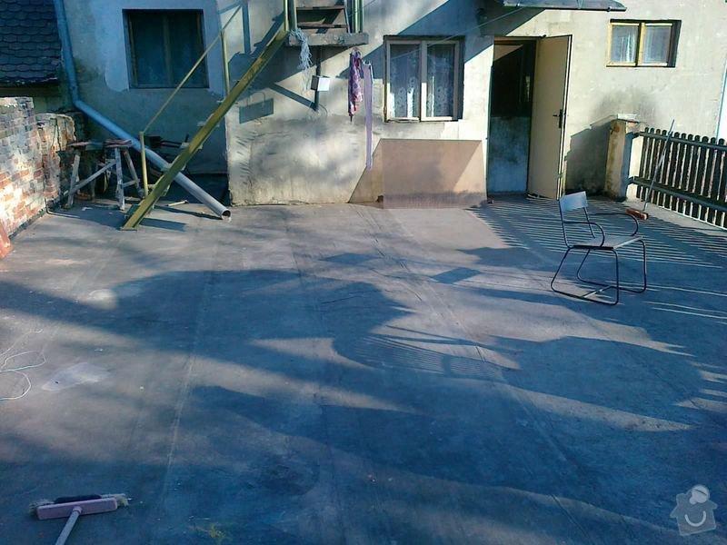 Odizolování terasy a zhotovení pochůzné plochy: 22042011076