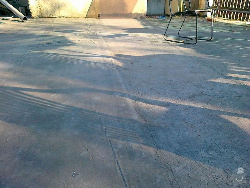 Odizolování terasy a zhotovení pochůzné plochy: 22042011077