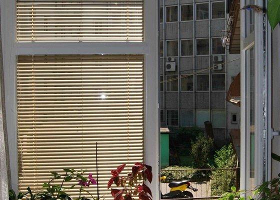 Výměna oken a montáž žaluzii