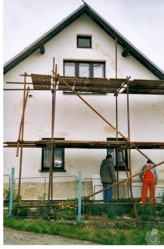 Zateplení fasády domu: chuchelna2
