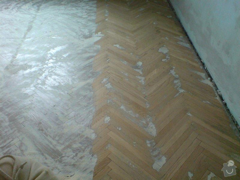 Renovace dubových parket a smrk. podlahy : DSC01787