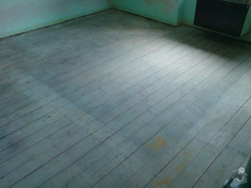 Renovace dubových parket a smrk. podlahy : DSC01792