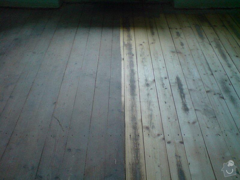 Renovace dubových parket a smrk. podlahy : DSC01793