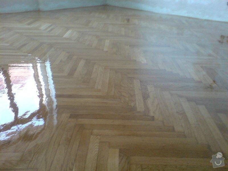 Renovace dubových parket a smrk. podlahy : DSC01795