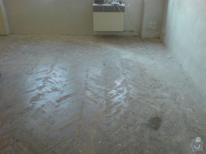 Renovace dubových parket a smrk. podlahy : DSC01802