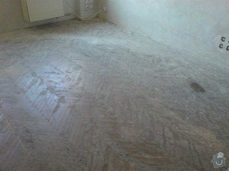 Renovace dubových parket a smrk. podlahy : DSC01803