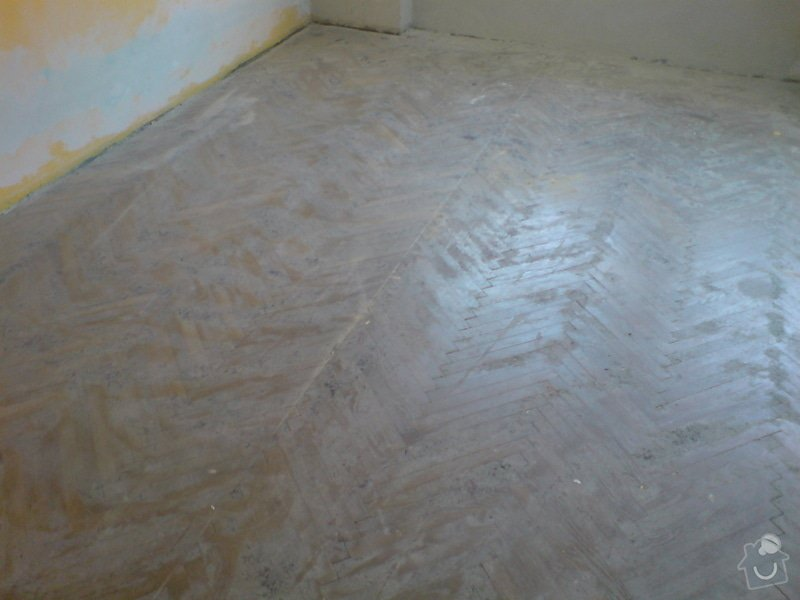 Renovace dubových parket a smrk. podlahy : DSC01804