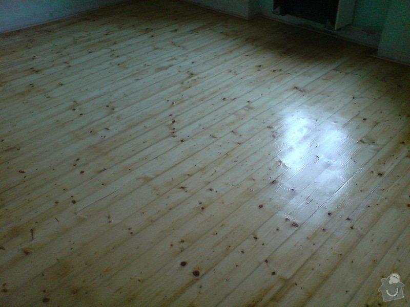 Renovace dubových parket a smrk. podlahy : DSC01809