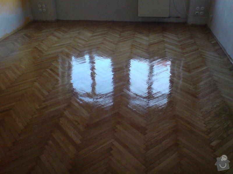 Renovace dubových parket a smrk. podlahy : DSC01810