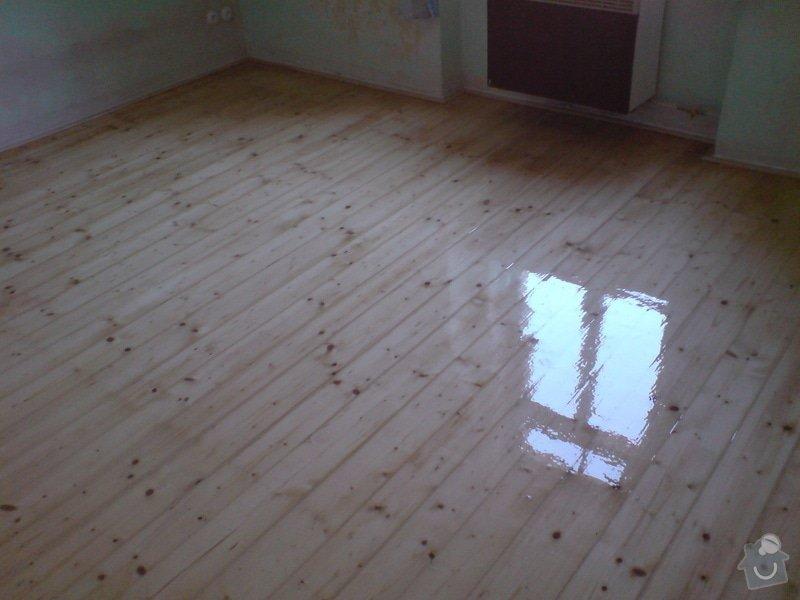 Renovace dubových parket a smrk. podlahy : DSC01812