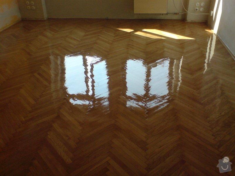 Renovace dubových parket a smrk. podlahy : DSC01814