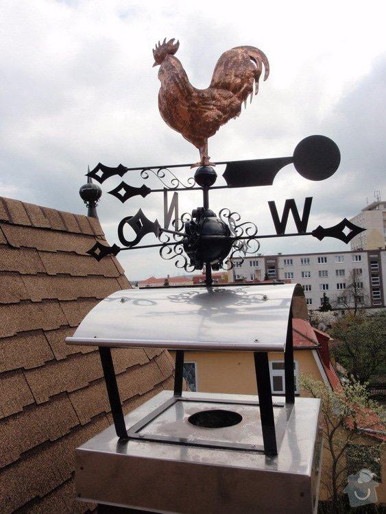 Komínová stříška + větrná korouhev: kad_rat_3_05