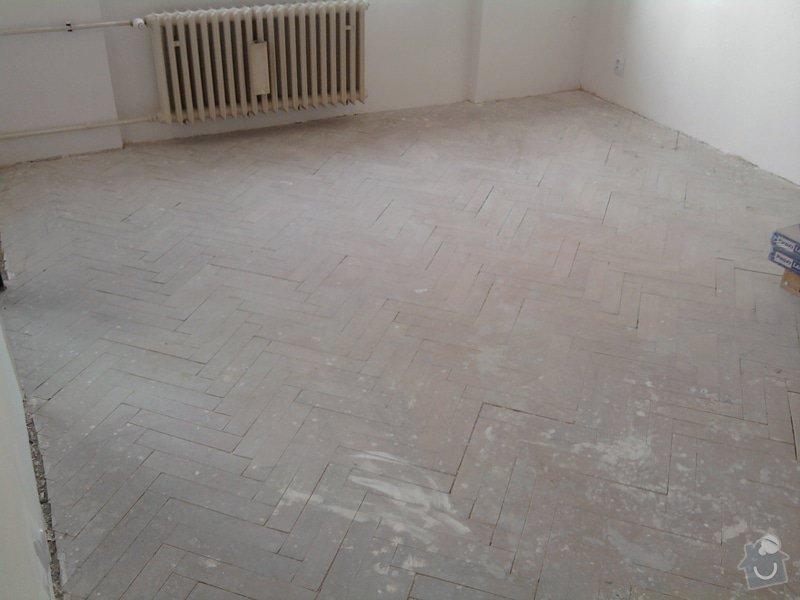 Pokládka plovoucí laminátové podlahy: 0Predtim