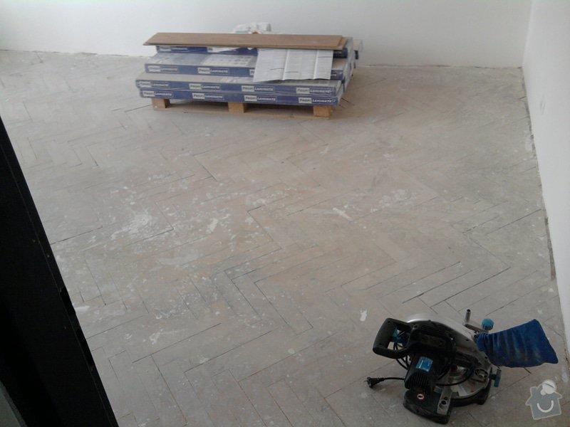 Pokládka plovoucí laminátové podlahy: 0Predtim1