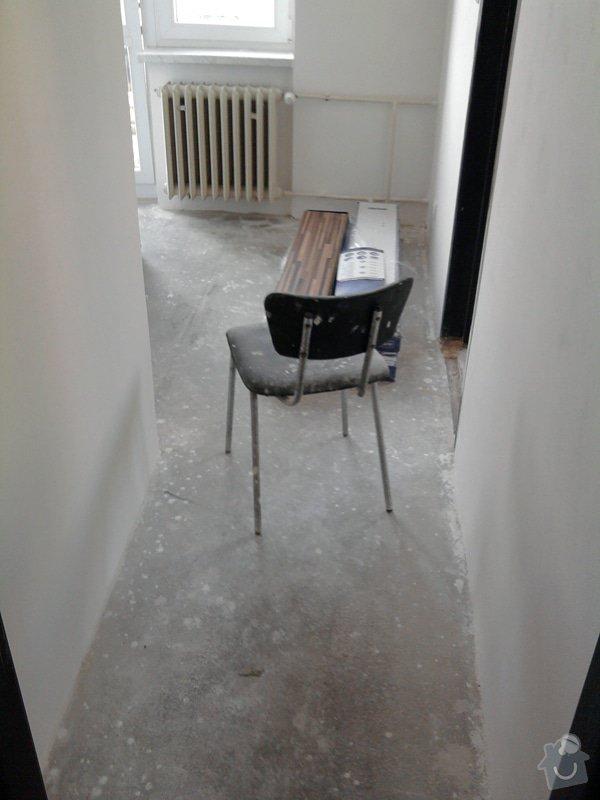 Pokládka plovoucí laminátové podlahy: 0Predtim2