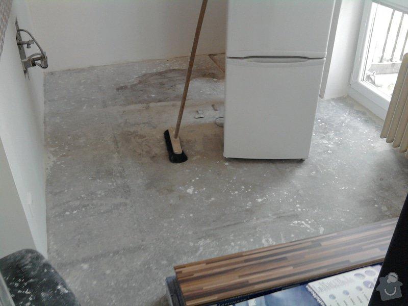 Pokládka plovoucí laminátové podlahy: 0Predtim3