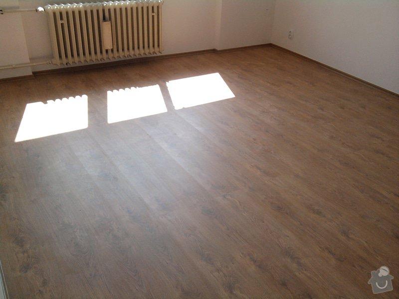 Pokládka plovoucí laminátové podlahy: Potom1
