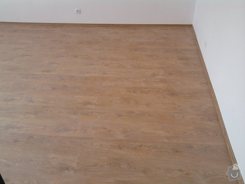 Pokládka plovoucí laminátové podlahy: Potom2