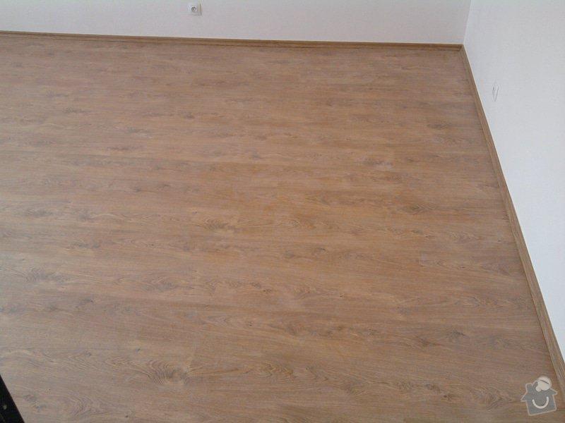 Pokládka plovoucí laminátové podlahy: Potom3