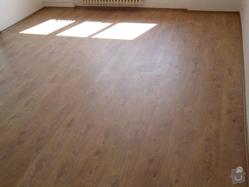 Pokládka plovoucí laminátové podlahy: Potom4
