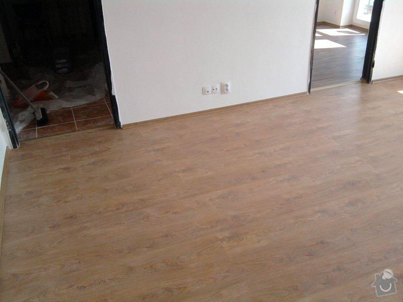 Pokládka plovoucí laminátové podlahy: Potom5