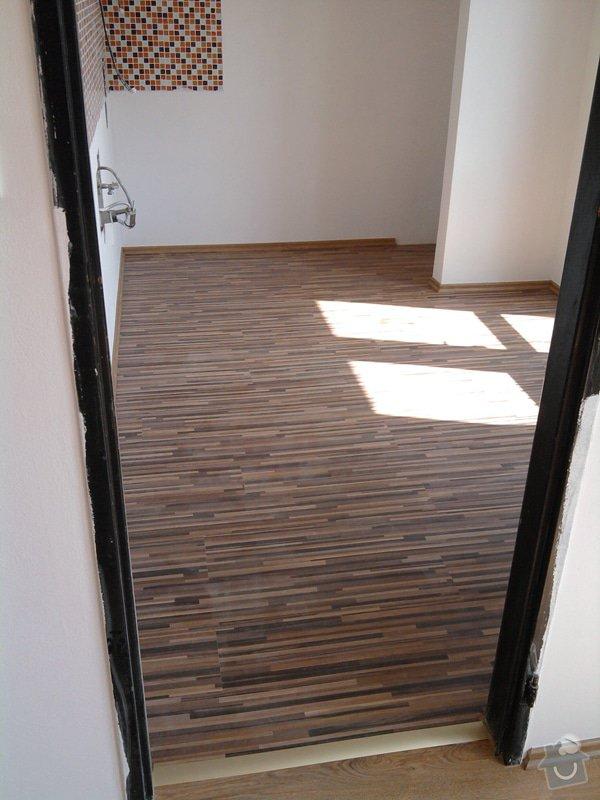 Pokládka plovoucí laminátové podlahy: Potom6