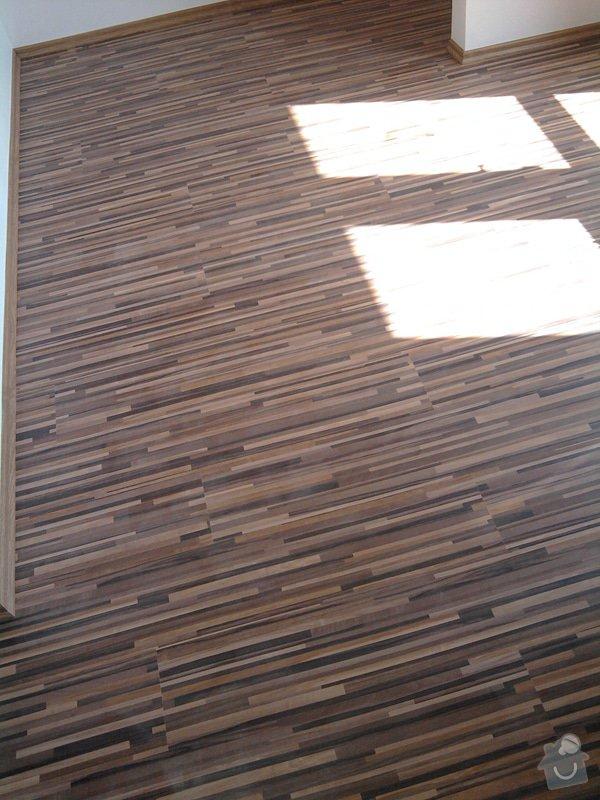 Pokládka plovoucí laminátové podlahy: Potom7