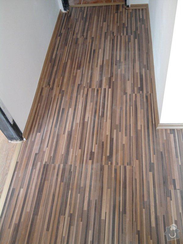 Pokládka plovoucí laminátové podlahy: Potom8