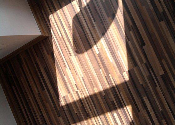 Pokládka plovoucí laminátové podlahy