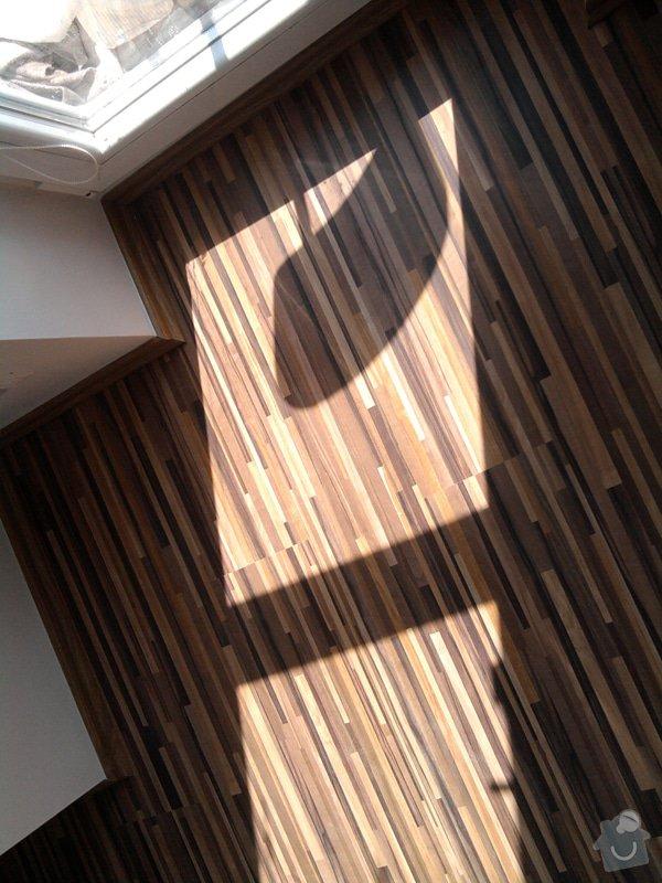 Pokládka plovoucí laminátové podlahy: Potom9