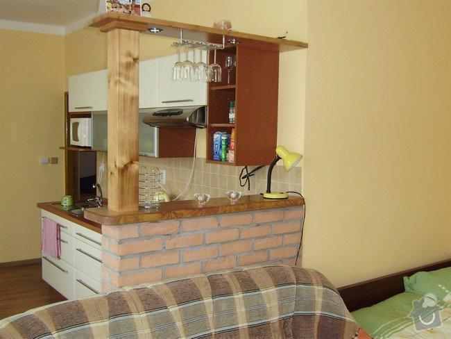 Rekonstrukce bytu 1+KK: barpult-stav_brezen_2009