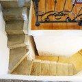 Oblozeni betonoveho schodiste drevem schodiste1