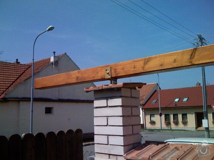 Lehká střecha nad průjezdem RD: pr_uchyceni_0213