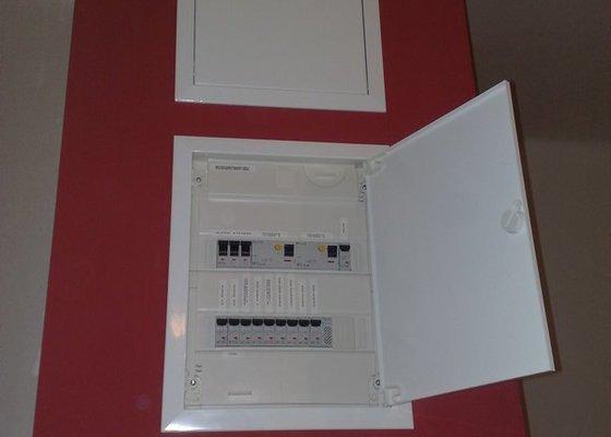 Nová elektroinstalace v bytě 4+1 Holešovice