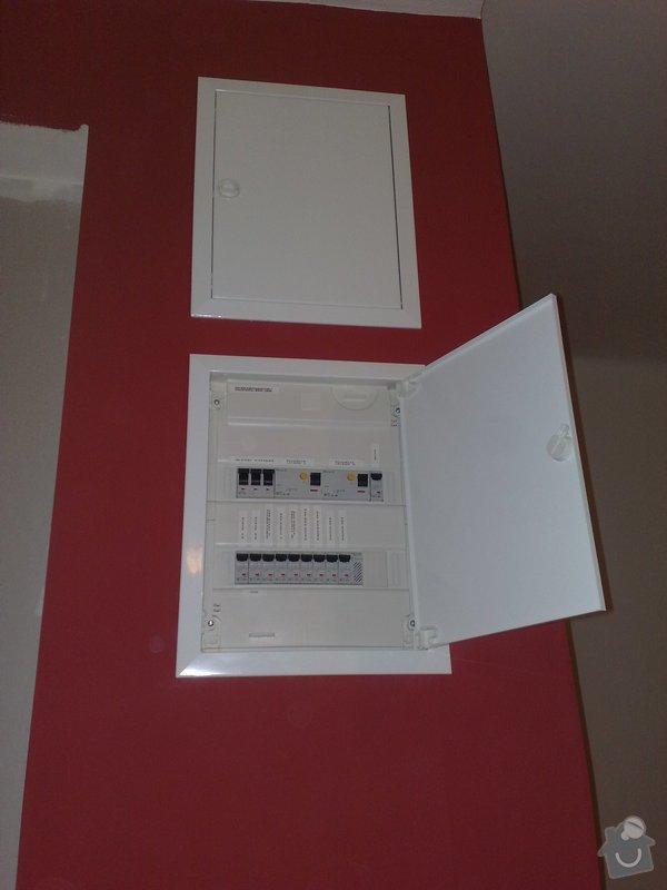 Nová elektroinstalace v bytě 4+1 Holešovice: 001
