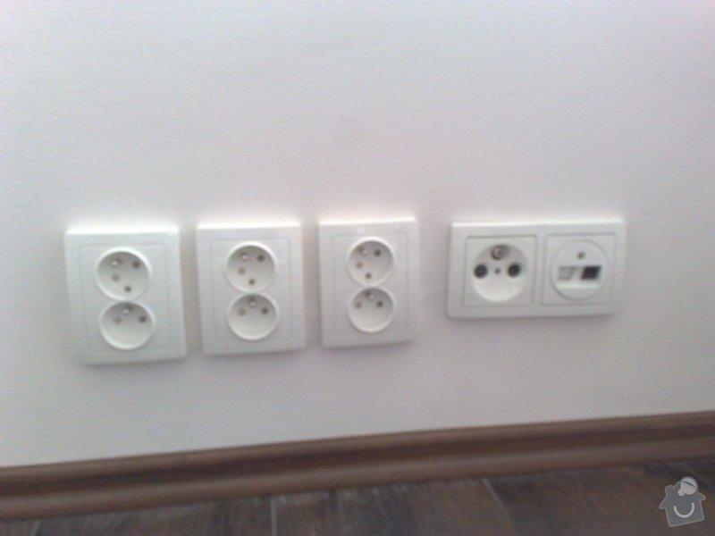 Nová elektroinstalace v bytě 4+1 Holešovice: 005
