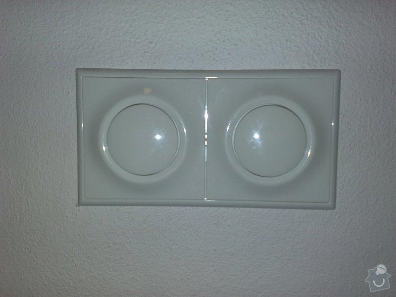 Nová elektroinstalace v bytě 4+1 Holešovice: 004