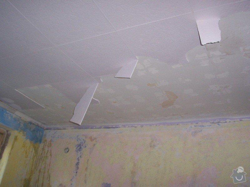 Rekonstrukce schodů a pokojů: odstran_n_kazet