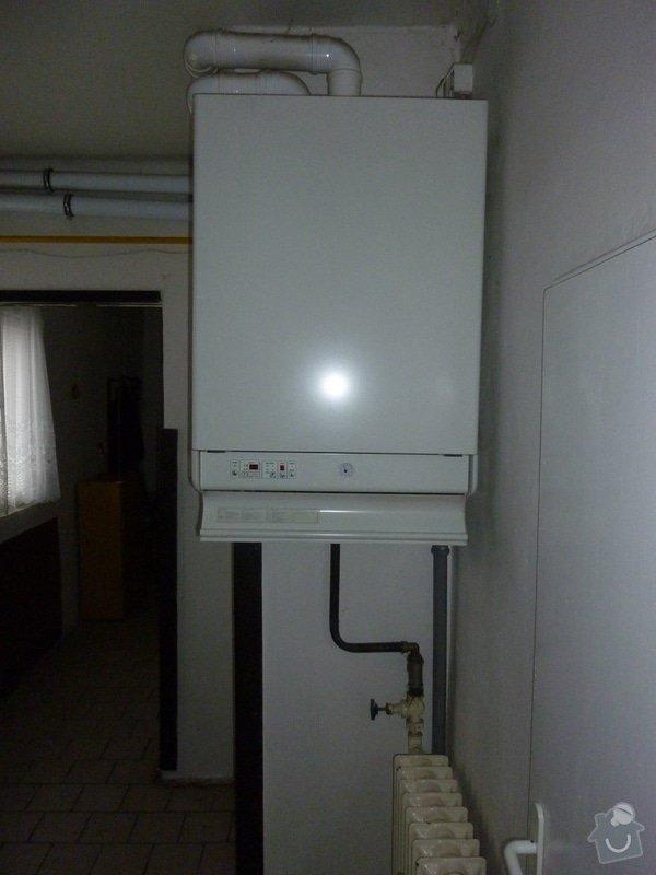 Rozvod topení, přidání topných těles do podkroví: P1020523