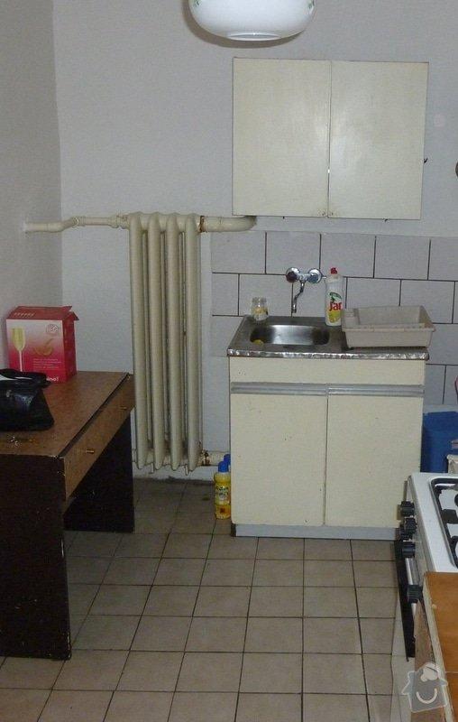 Rozvod topení, přidání topných těles do podkroví: P1020539.1