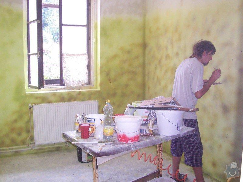 Rekonstrukce schodů a pokojů: v_malba_pokoje